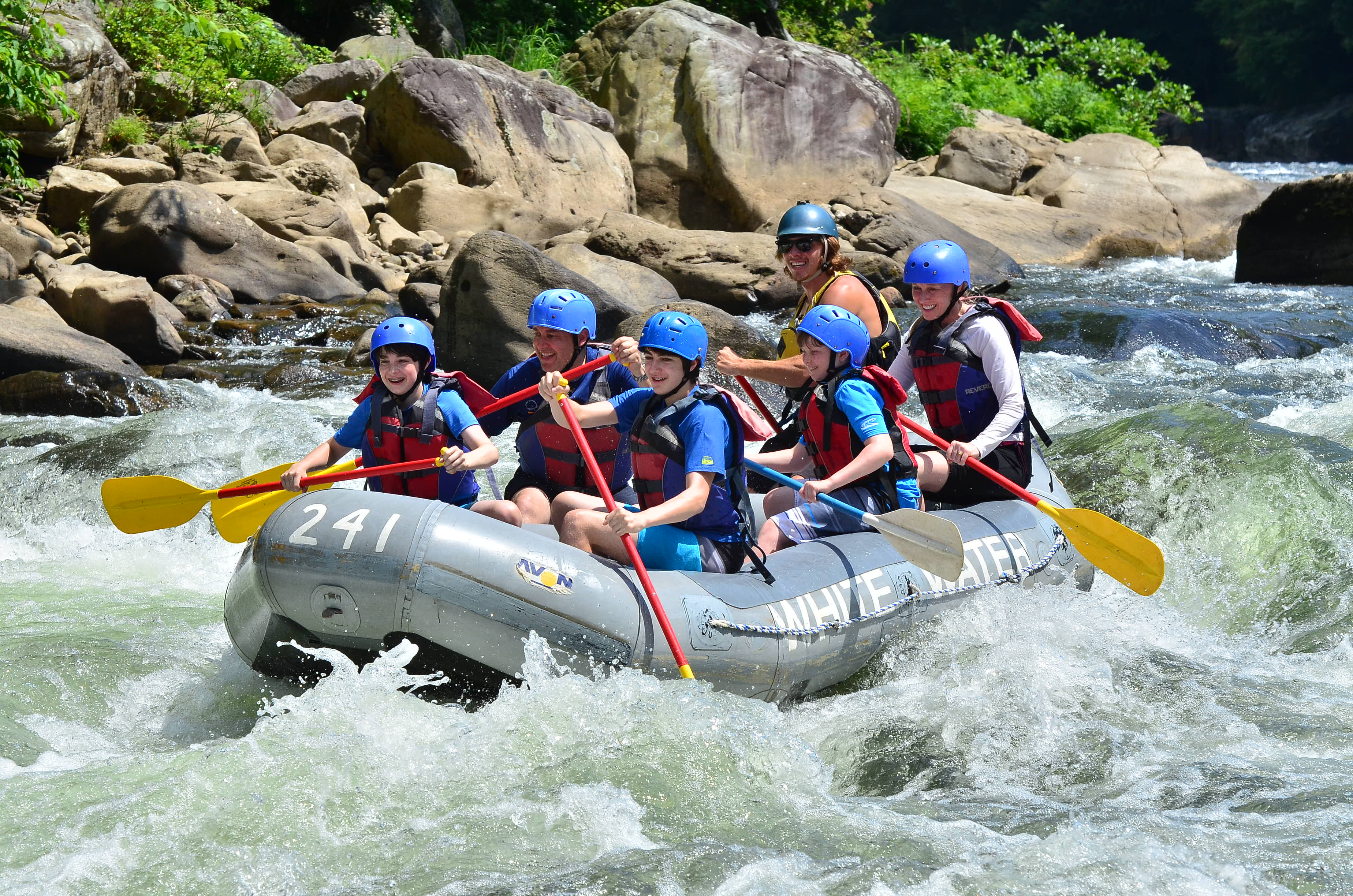 Youghiogheny River Rafting Trips