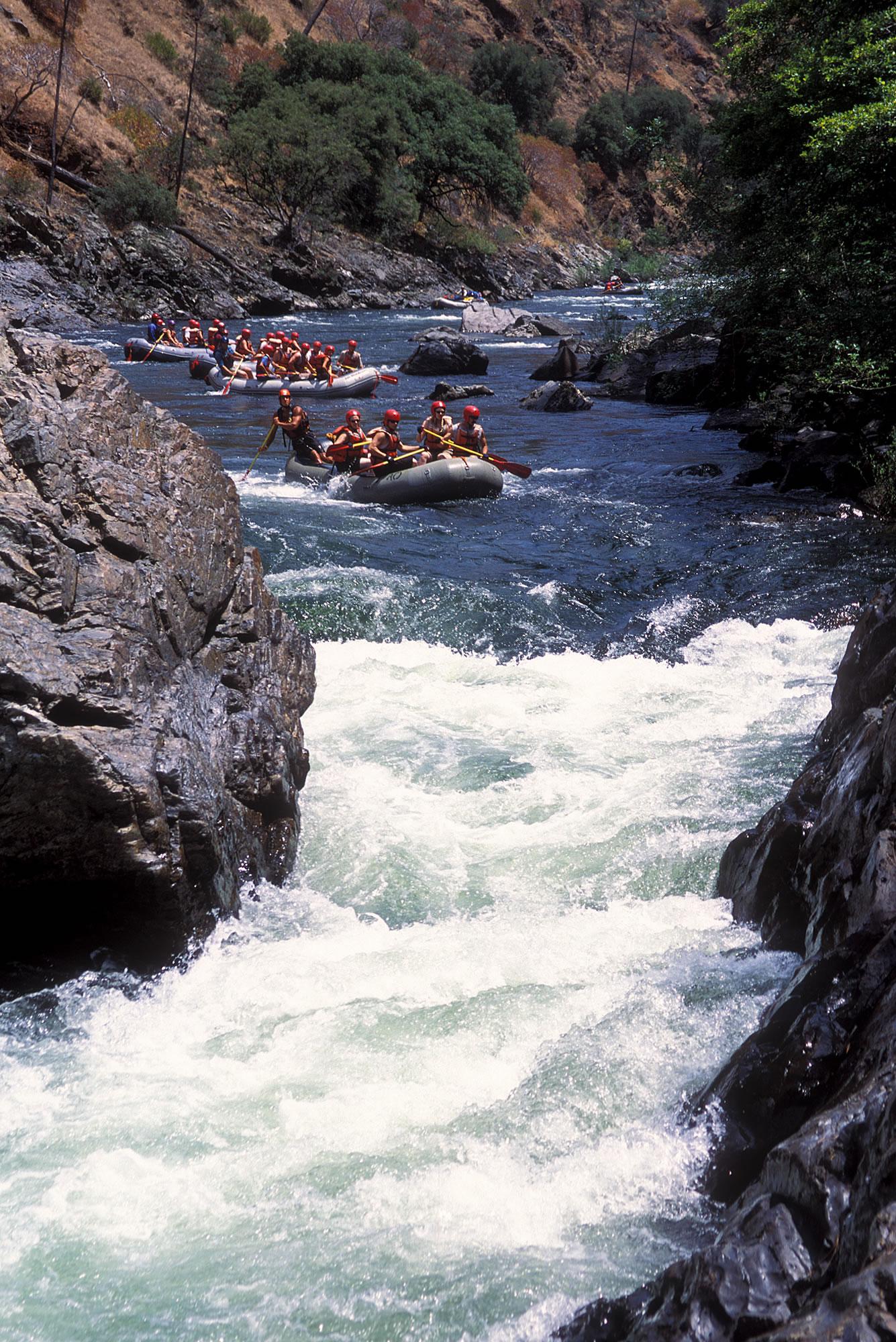 Tuolumne River Rafting Trips