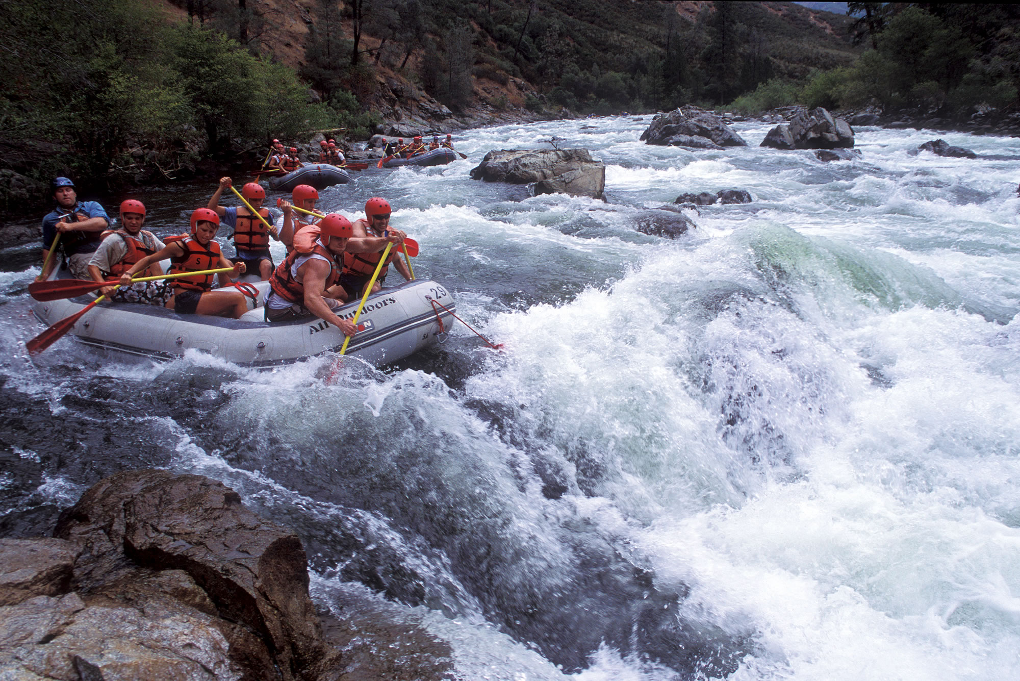 rivers and whitewater rapids essay