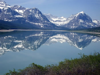 Glacier National Park, image courtesy of Glacier Guides Montana