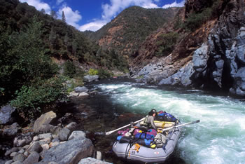 Middle Fork American River Rafting, image courtesy of All-Outdoors California Whitewater Rafting