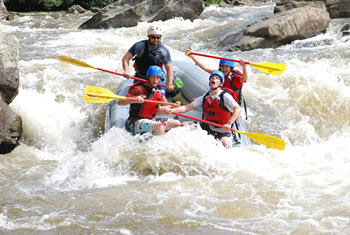 Youghiogheny River Rafting, image courtesy of Whitewater Adventurers