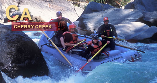 Cherry Creek Whitewater Rafting