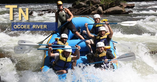 Ocoee River Rafting Tennessee