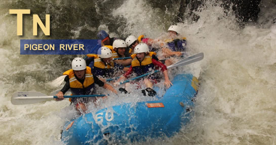 Pigeon River Rafting Tennessee