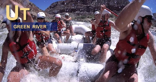 Green River Rafting Utah