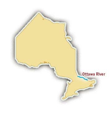 Ottawa River Rafting Trips - Where is ottawa