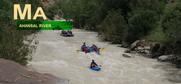 ahansal river rafting morocco