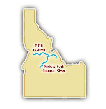 Salmon River in Idaho