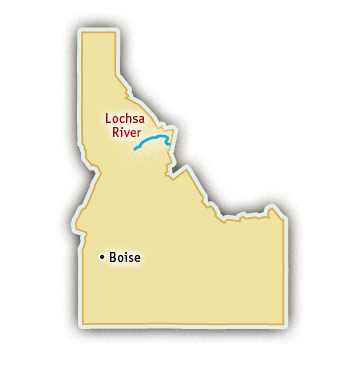 Lochsa River Rafting Trips Idaho