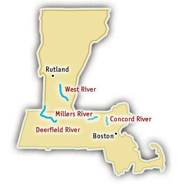 Massachusetts and Vermont Whitewater Rafting