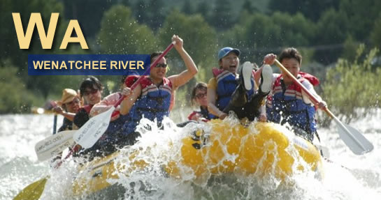 Wenatchee River Rafting Washington