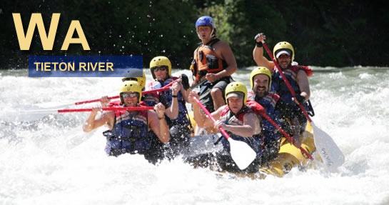 Tieton River Rafting Washington