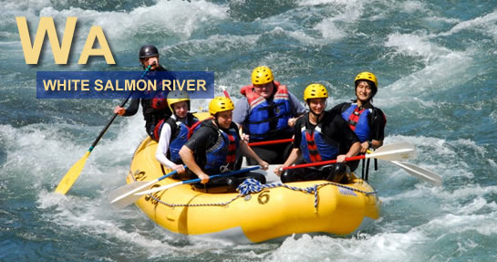 White Salmon River Rafting Washington