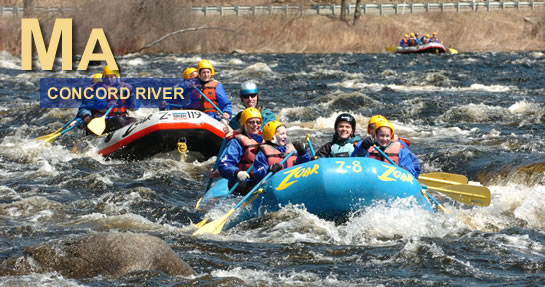 Concord River Rafting