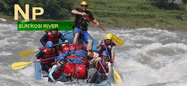 Sun Kosi River Nepal