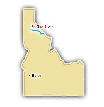 St. Joe river