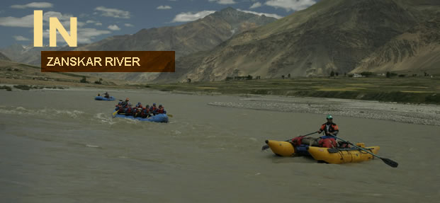 Zanskar River Rafting India